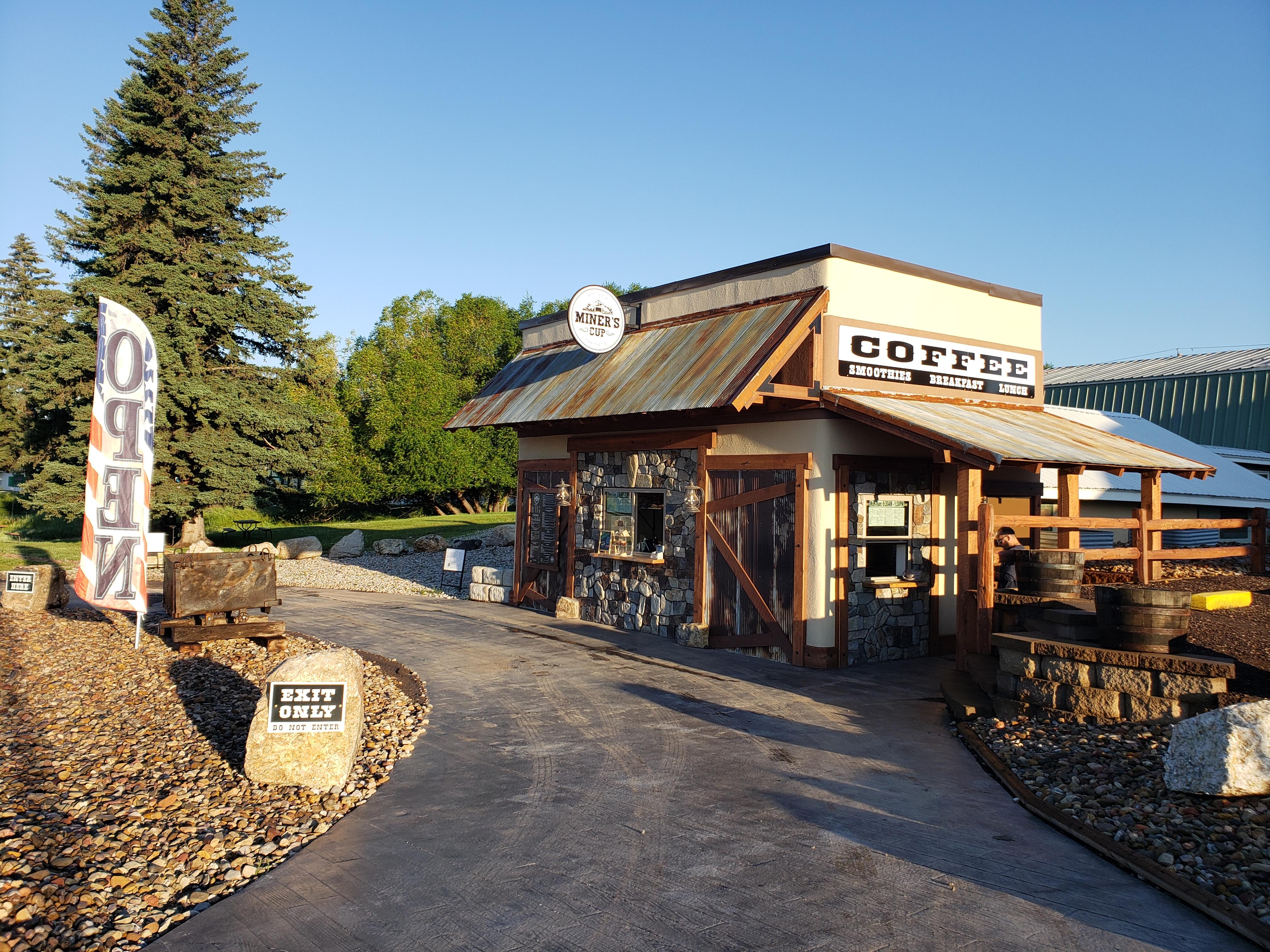 Coffee Miner's Cup Custer South Dakota